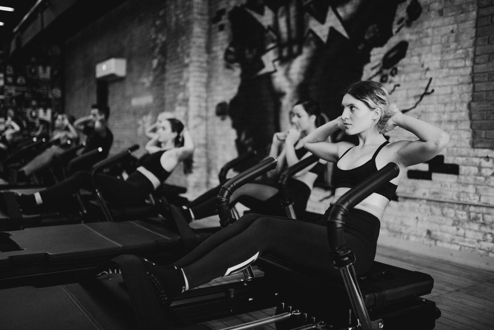 women working out at Corus45 beachwood gym